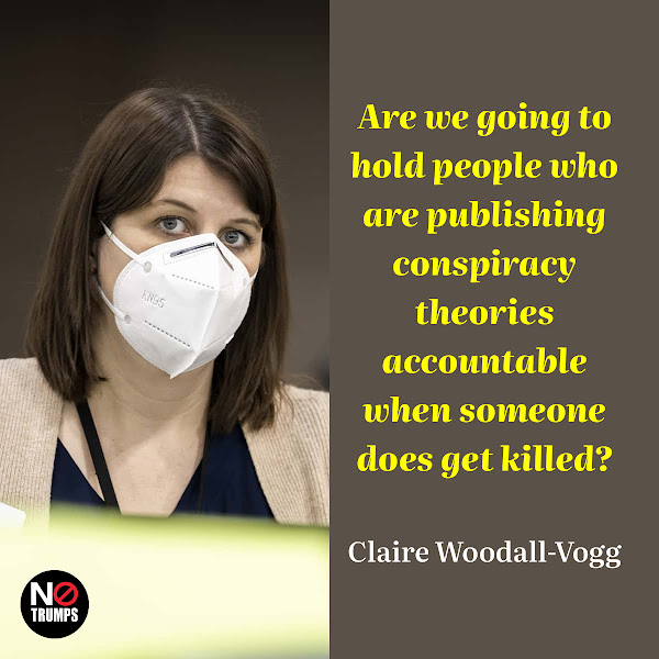 Are we going to hold people who are publishing conspiracy theories accountable when someone does get killed? — Claire Woodall-Vogg, executive director of the Milwaukee election commission
