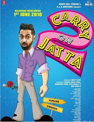 Carry on Jatta 2 2018 Full Punjabi Movie Download in 720p HD