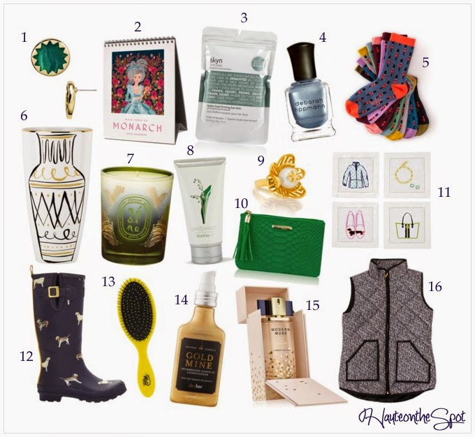 Haute on the spot holiday gift ideas under