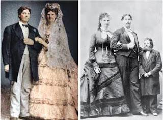 Pasangan suami istri paling tinggi