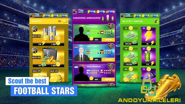 Soccer Agent Mobile Football Manager 2019 Hileli APK