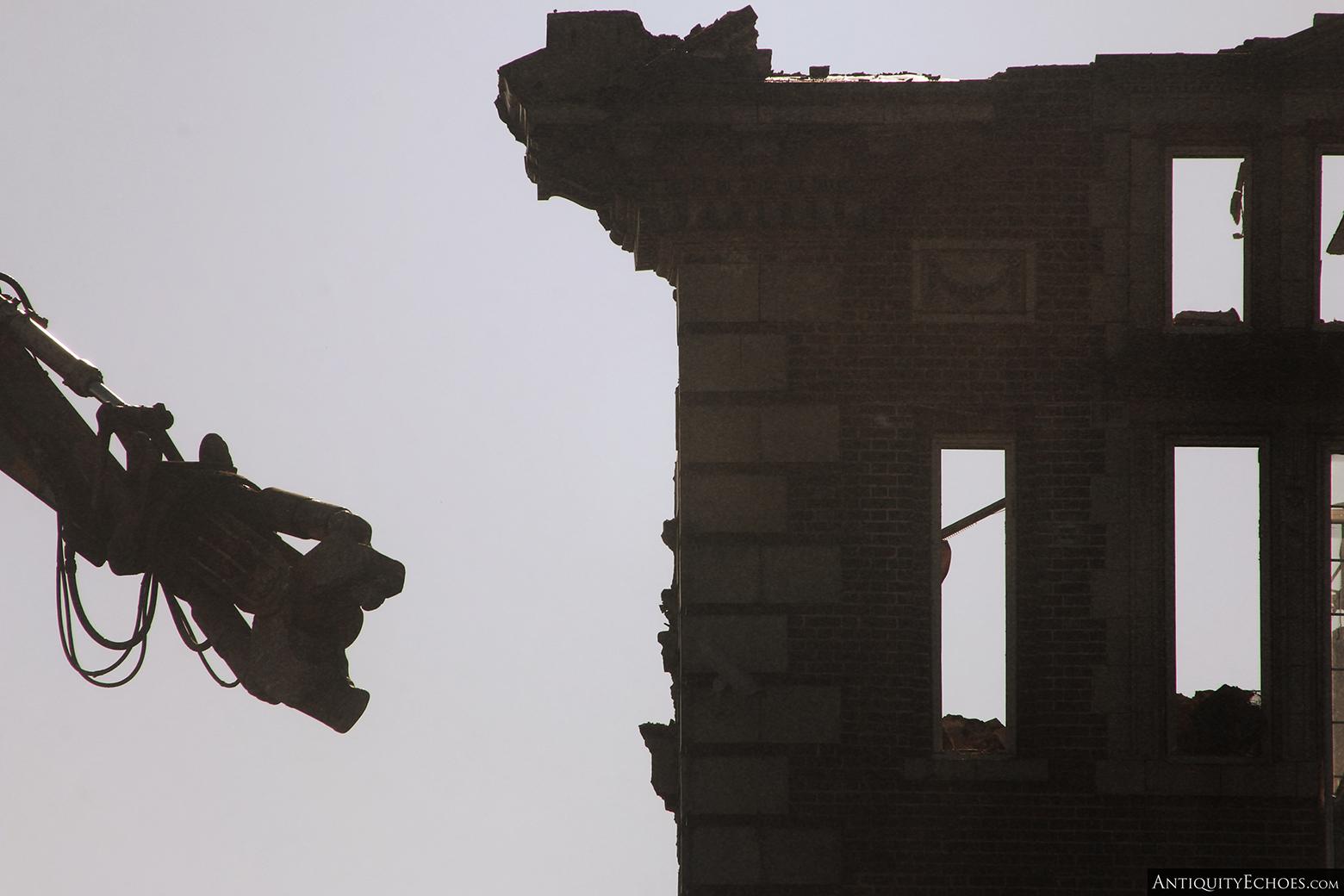 Allentown State Hospital - Demolition - Jagged Edges