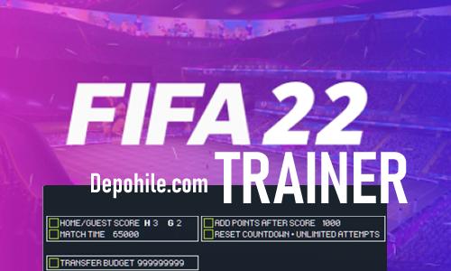 FIFA 22 PC Oyunu Para, Transfer Hilesi Trainer İndir Bedava