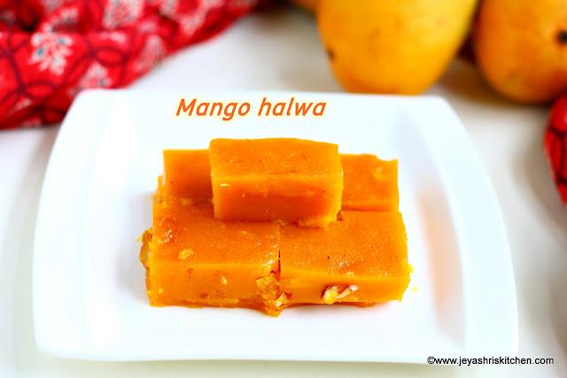 Mango halwa recipe