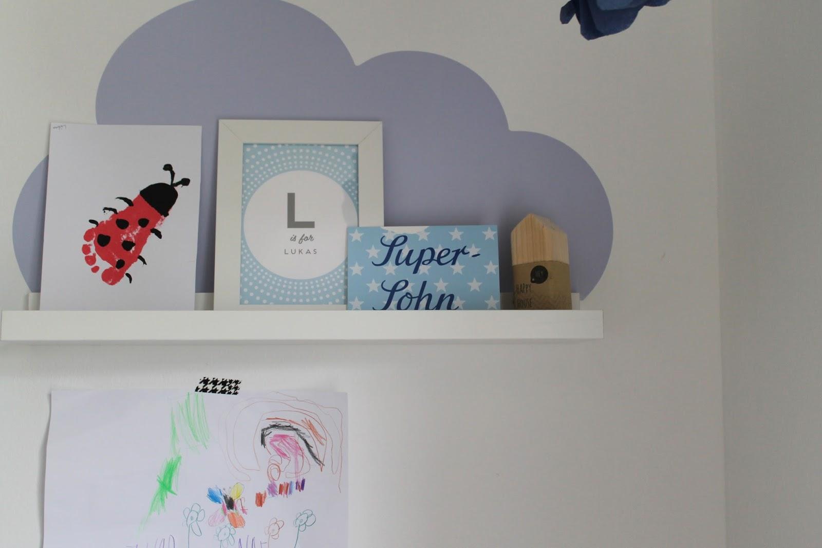 kleines freudenhaus diy wolkenmobil inkl anleitung zum selbermachen. Black Bedroom Furniture Sets. Home Design Ideas