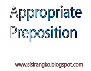 Appropriate preposition in bangla for SSC,HSC and JSC