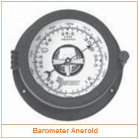 Barometer aneroid - Alat Pengukur Tekanan Udara