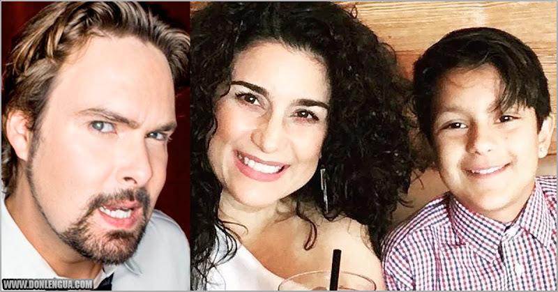 Karina indignada por el mal chiste del George Harris contra su hijo transgenero