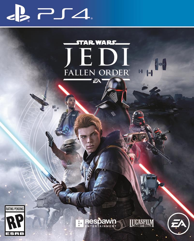 Star Wars Jedi: Fallen Order ps4 cover art