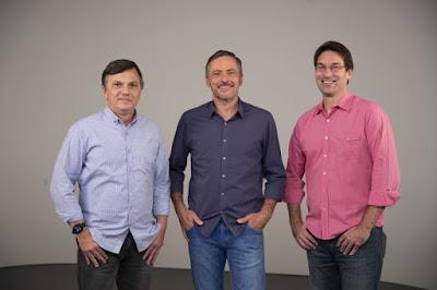 Mauro Cezar Pereira, Vladir Lemos e Arnaldo Ribeiro  Foto: Nadja Kouchi