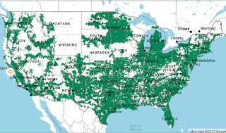 Coverage Maps For All Prepaid Carriers Prepaid Phone News - Lyca mobile coverage map us