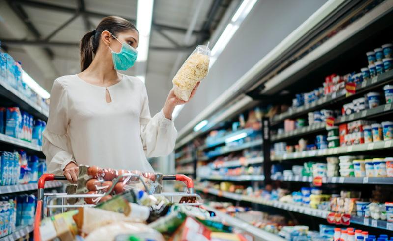 Υποχρεωτική η χρήση μάσκας στα σούπερ μάρκετ