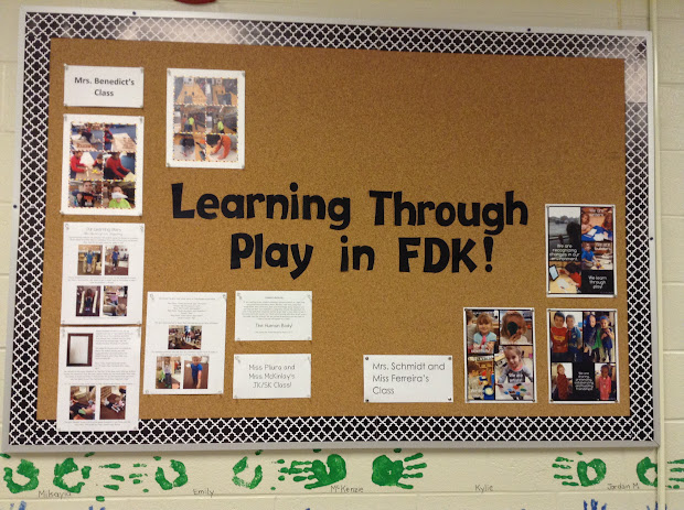 Play and Learn Bulletin Boards