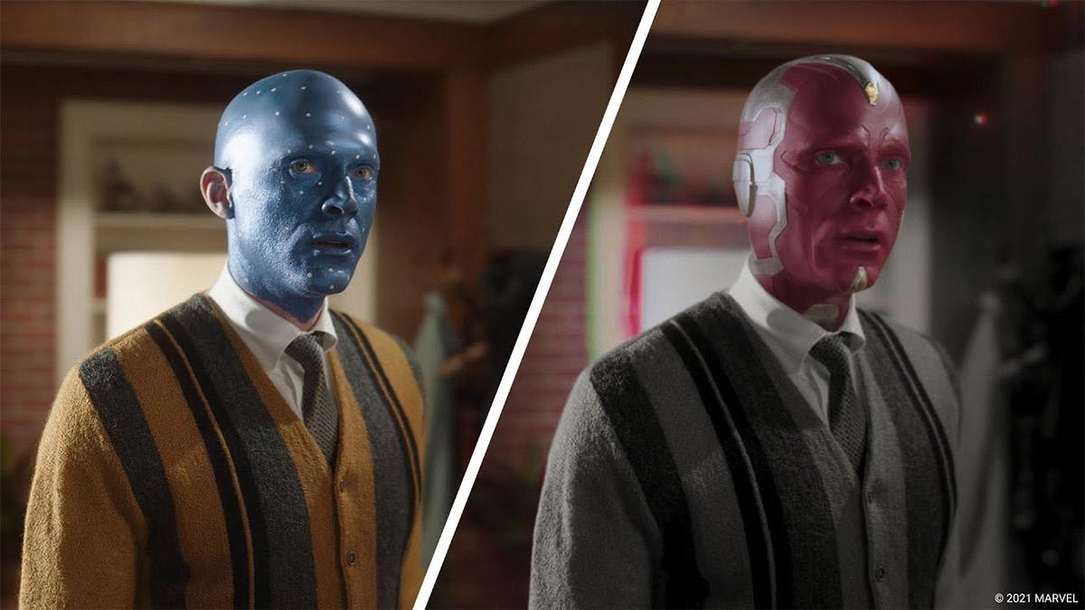 Reel de efeitos visuais de WandaVision revela como a Marvel deu vida à série da Disney +