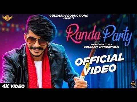 रांडा पार्टी  Randa Party – Gulzaar Chhaniwala