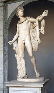 Greek God Apollo.