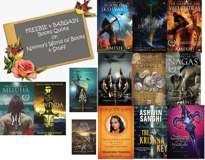 #FBQ(68): FREE & BARGAIN books quota ~ Indian Mythology Bestsellers Special Part 1