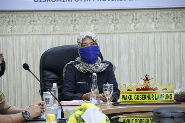 Wagub Chusnunia: Gugus Tugas Provinsi Back Up Penuh Tim Gugus Tugas Kota Bandarlampung