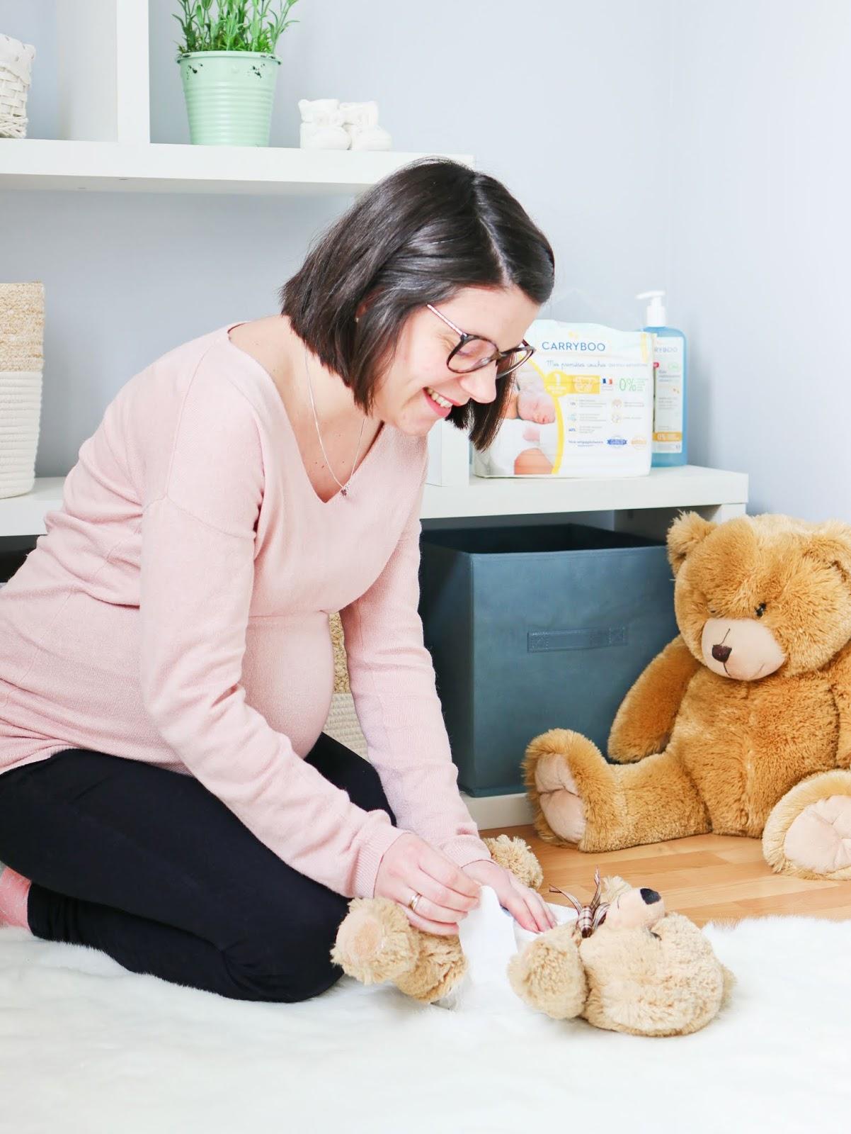 quelle couche choisir acheter pour bébé anses rapport substance nocive toxique bio carryboo avis experience français les gommettes de melo