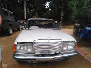 Satgas Yonmek 643 Gagalkan Penyelundupan Mercedes Benz Asal Malaysia