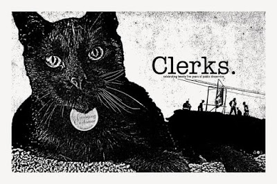 Clerks 25th Anniversary Screen Prints by Chris Garofalo, Studiohouse Designs and Leeloo Multiprops – All Signed by Actor Jeff Anderson!