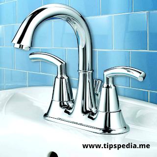 two handle bathroom faucet