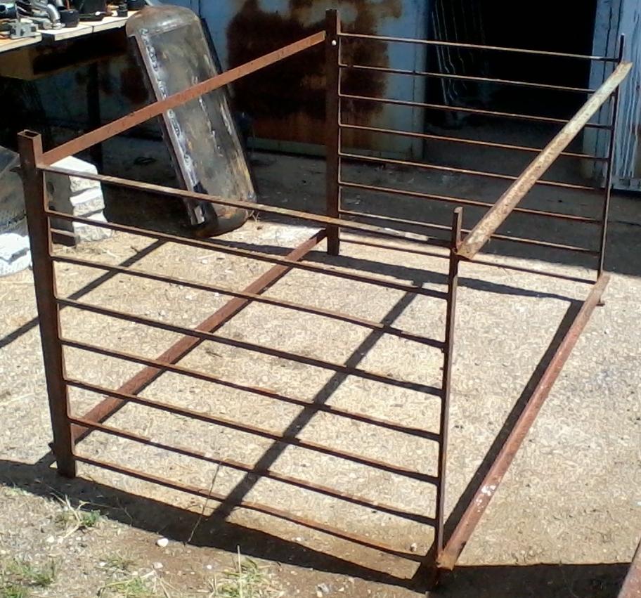 Grinchou blog rack de rangement pour la ferraille for Rack pour garage