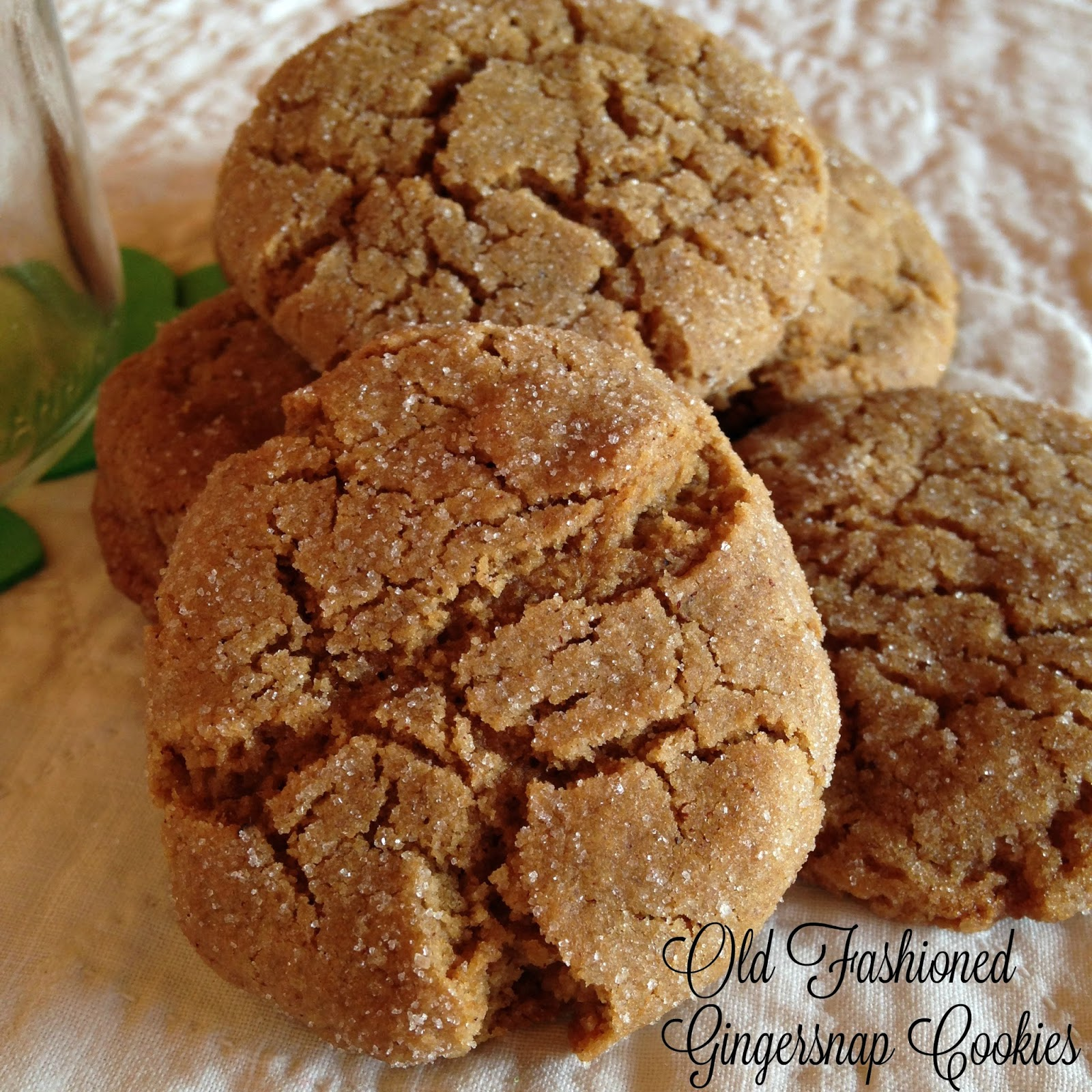 Old Fashioned Ginger Snaps - Lovely Little Kitchen 70