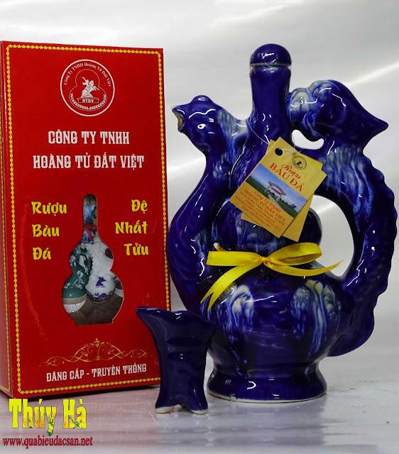Rượu Bàu Đá bình phượng làm quà biếu tết 2018