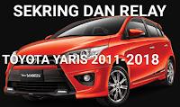 fusebox toyota YARIS 2011-2018
