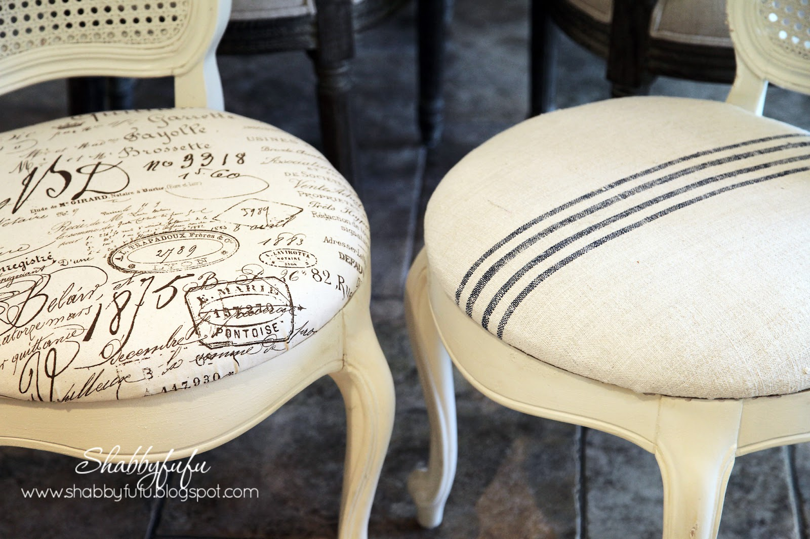 A Thing For French Chairs Redeux Shabbyfufu Com