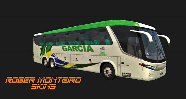MARCOPOLO G7 1200  VIAÇÃO GARCIA
