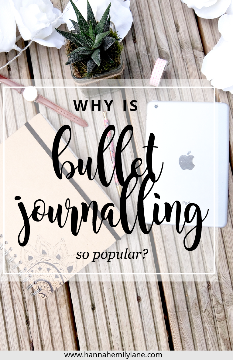 Bullet journals have taken the world by storm. But why are they so popular? | www.hannahemilylane.com