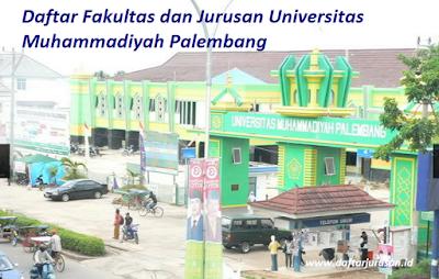Daftar Fakultas dan Jurusan UMP Universitas Muhammadiyah Palembang Terbaru