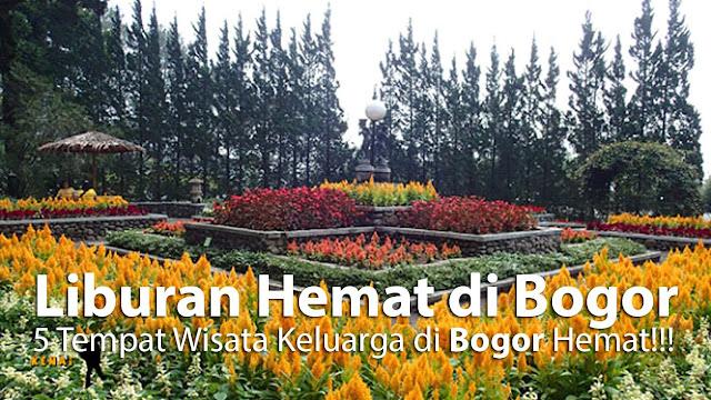 Rekomendasi tempat wisata murah di daerah Bogor.