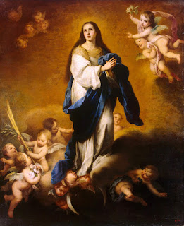 Murillo - Inmaculada Concepción Esquilache (Hermitage Museum) 1645/55