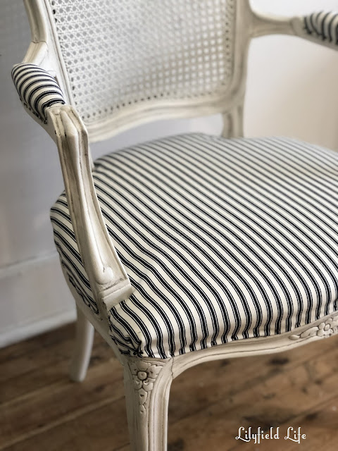 Lilyfield Life French upholstered vintage chair