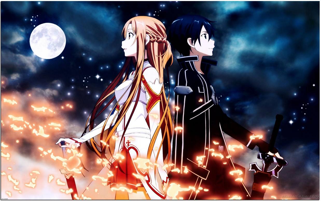 Kirito And Asuna Sword Art Online - HD Wallpaper | Wallpaper Pic Collections