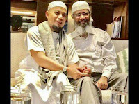 Zakir Naik Live di TVone Di Masjid Ust Arifin Ilham, Ini Jadwalnya (HOAX)