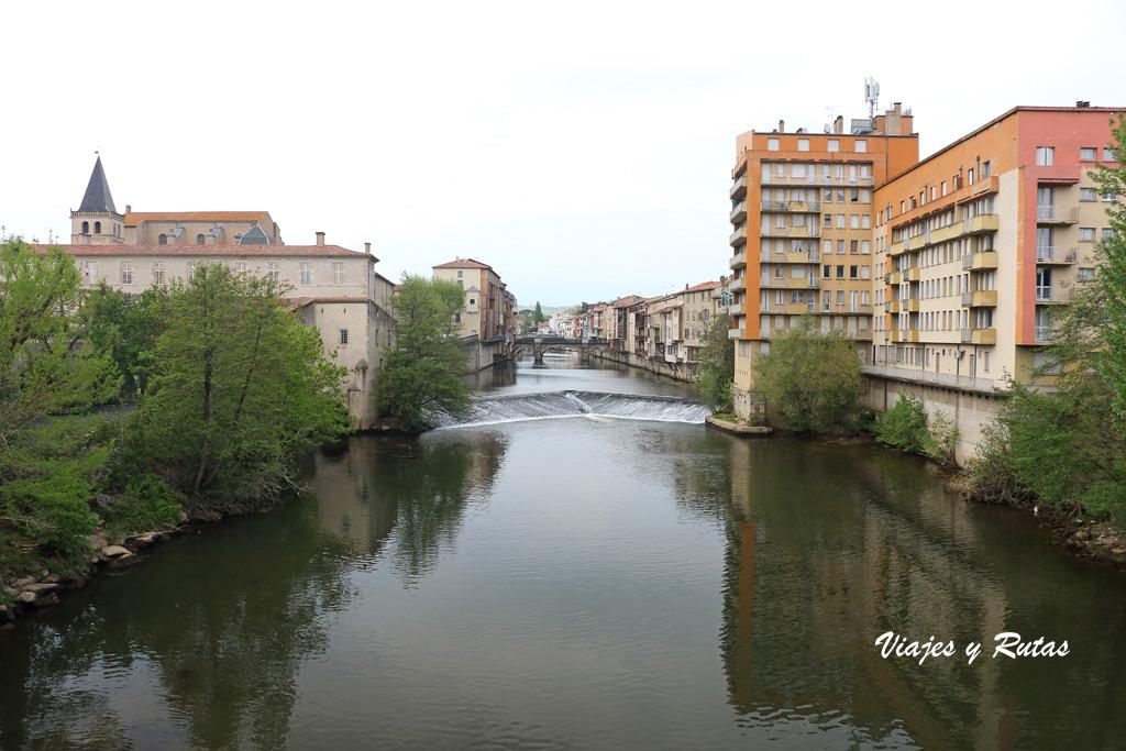 Río Agout, Castres