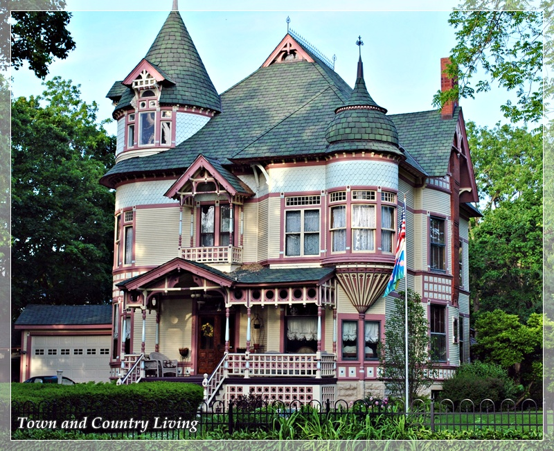 more historic homes in sycamore illinois town country living. Black Bedroom Furniture Sets. Home Design Ideas
