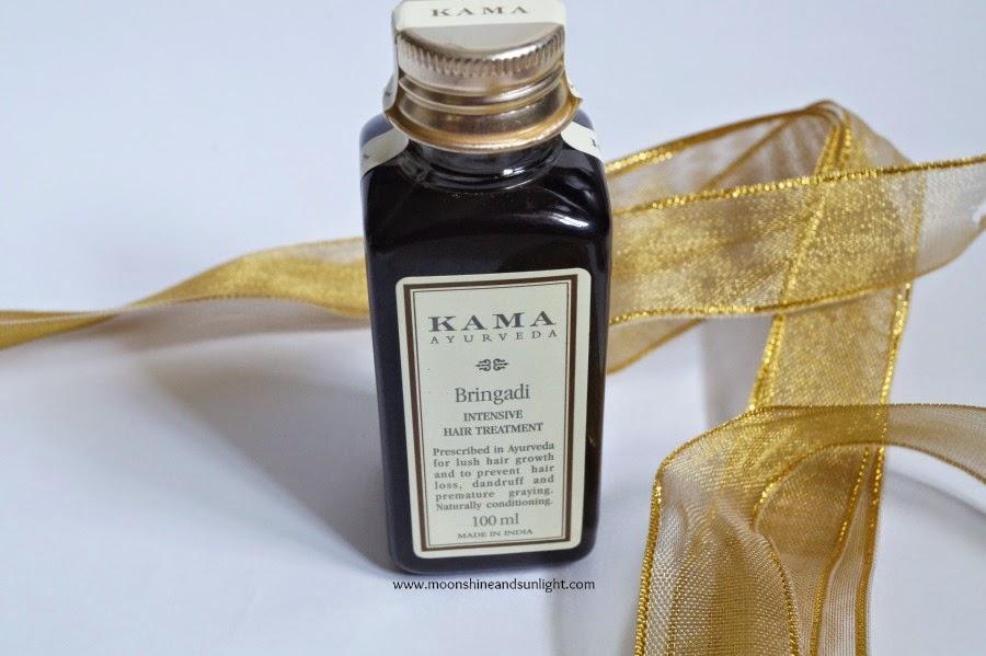 Kama Ayurveda Bringadi Intensive Hair treatment Review and price in India