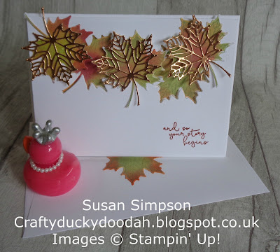 Colorful Seasons, Craftyduckydoodah!, SBTD Blog Hop, Stampin' Up! UK Independent  Demonstrator Susan Simpson, Supplies available 24/7 from my online store,