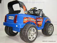 4 Mobil Mainan Aki Pliko PK9128N Adventure dengan 2 Dinamo Motor