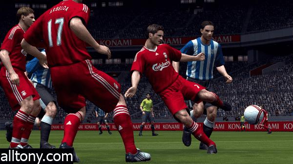 تحميل وتثبيت لعبة بيس 2009 كامله النسخة الاصلية Pro Evolution Soccer 2009