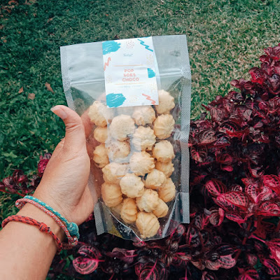 Soes kering isi sokelat Toasty Deli Semarang