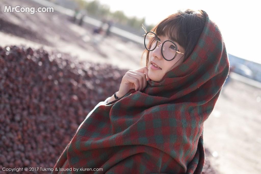Image Tukmo-Vol.105-Qiu-Qiu-MrCong.com-004 in post Tukmo Vol.105: Người mẫu Qiu Qiu (球球) (41 ảnh)
