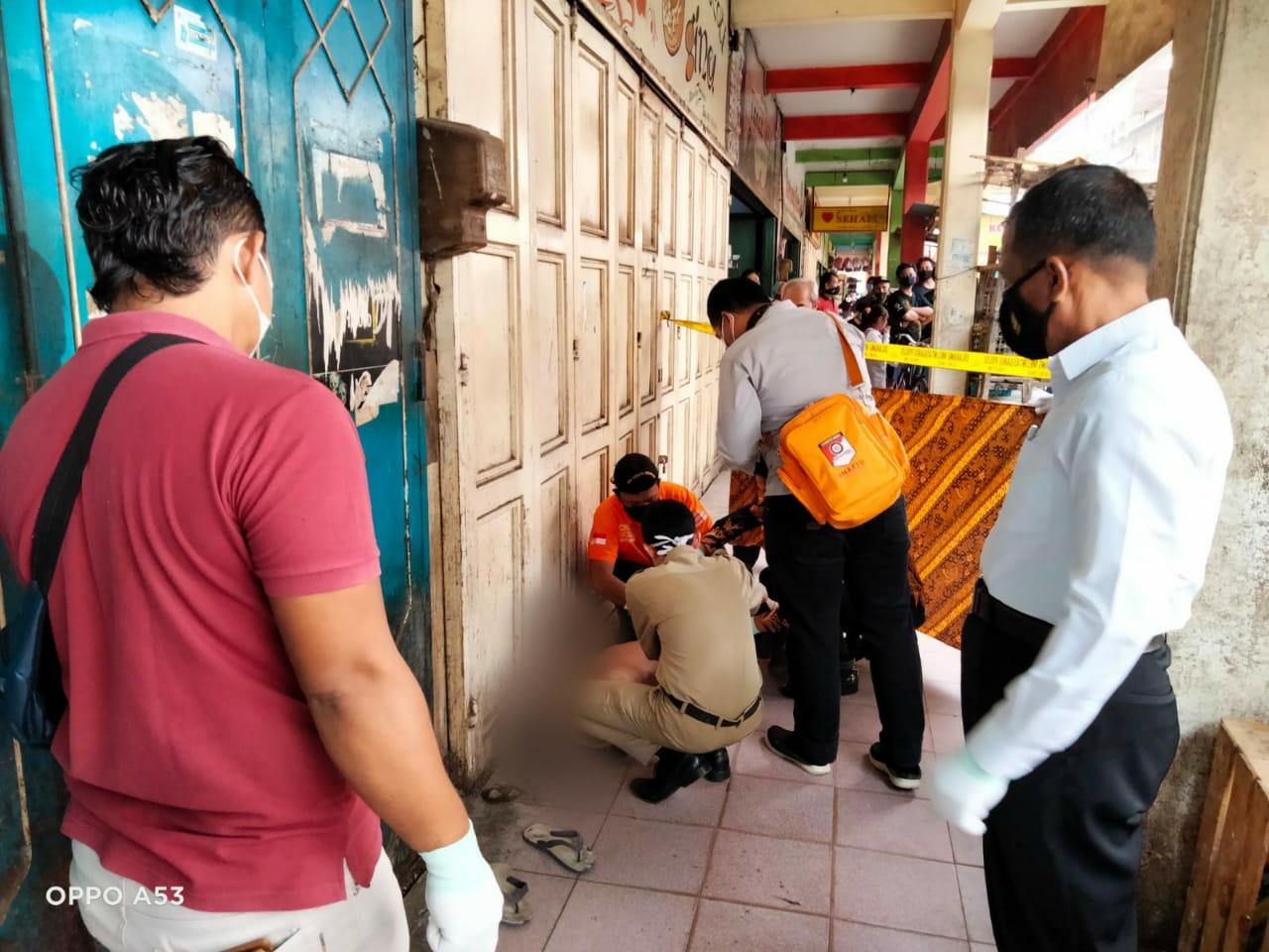 Innalillahi, Lansia Asal Tamanwinangun Meninggal di Pasar Gombong