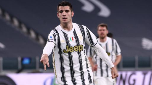 Juventus forward Alvaro Morata