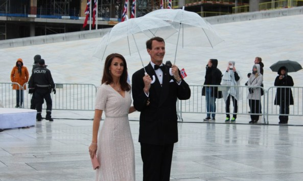 Prince Joachim and Princess Marie participate in events for Flag Day